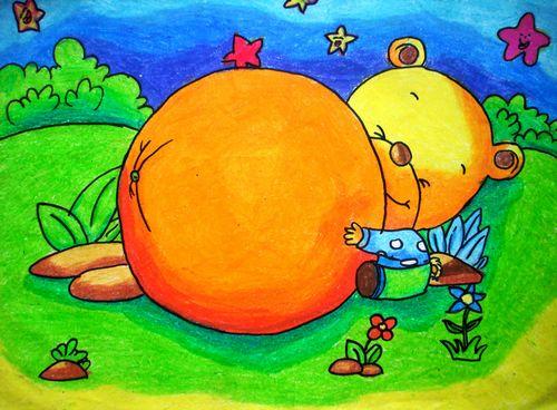 儿童画画学习|儿童画秋天-丰收的季节