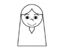 【幼师如何有效进行家园共育】幼儿园人物简笔画教案《印第安女孩》