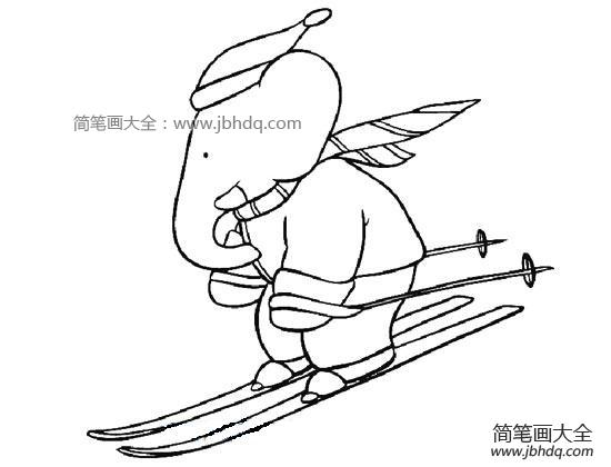 滑雪大冒险破解版|滑雪的大象