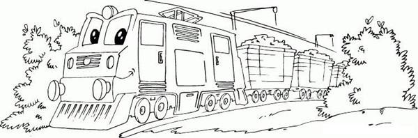 【卡通火车简笔画图片大全大图】卡通火车简笔画图片