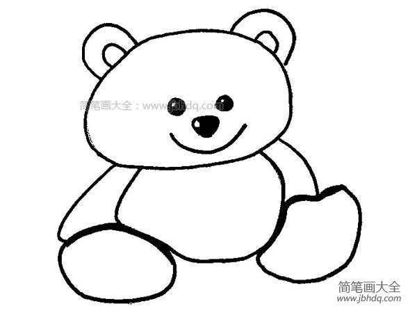 [玩具小熊简笔画图片大全]玩具小熊简笔画图片