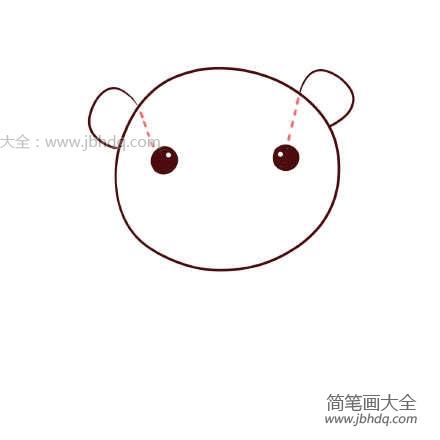[小老虎简笔画大全可爱]小老虎玩偶简笔画教程