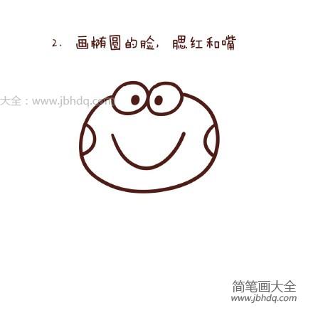 【可爱的青蛙简笔画图片大全】可爱的青蛙简笔画图片