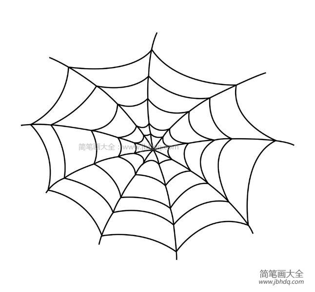 [蜘蛛简笔画图片大全]蜘蛛简笔画图片