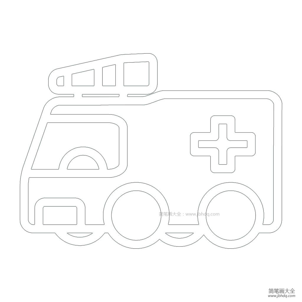 救护车平面图