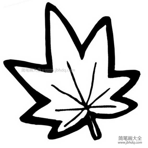 [梧桐树的简笔画]梧桐树树叶简笔画