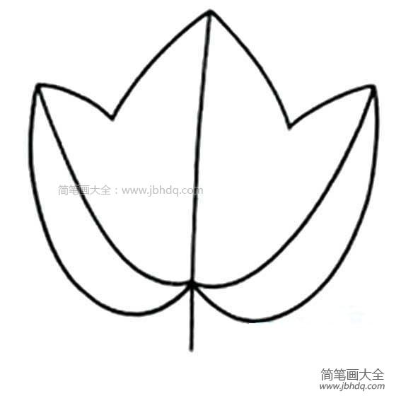 [简单的树叶简笔画图片大全]简单的树叶简笔画