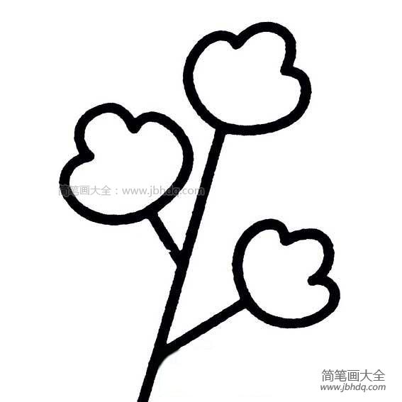 怎样画树叶简单画法|幼儿树叶简单画法