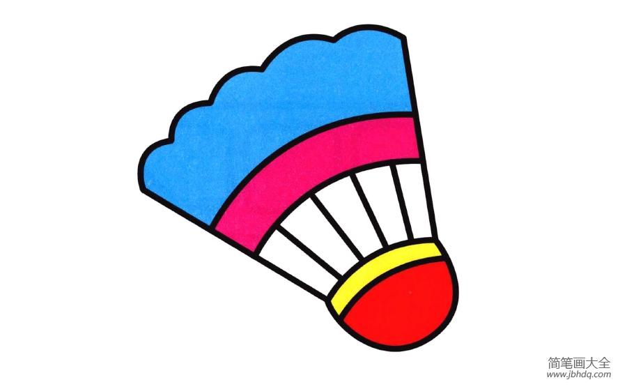 【羽毛球简笔画图片大全】羽毛球简笔画图片