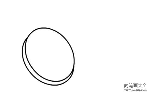 猕猴桃怎么画简笔画_儿童水果简笔画猕猴桃