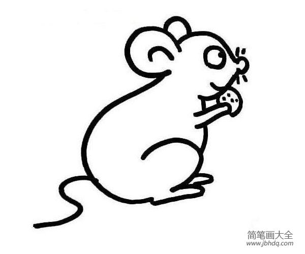 一组卡通老鼠的简笔画图片大全 一组卡通老鼠的简笔画图片