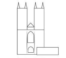 幼乐园简笔画_幼儿园简笔画教案《城堡》