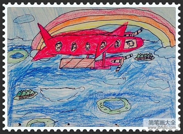 我的梦想是坐飞机