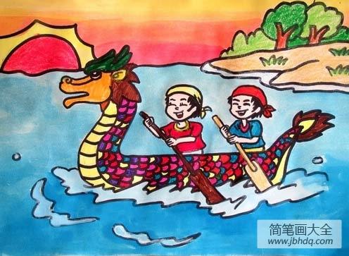 端午节划船