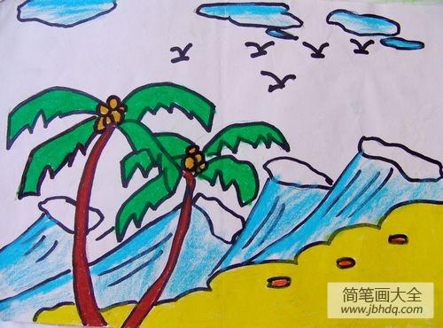海南椰子树