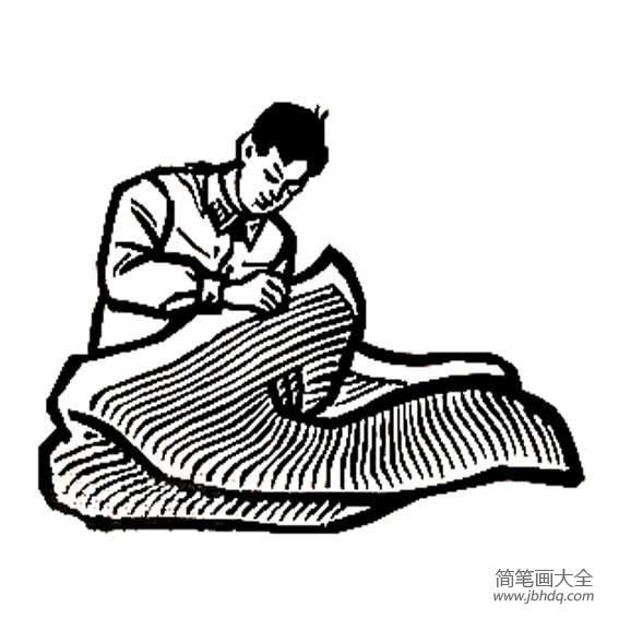 【学雷锋图片大全简笔画】学雷锋简笔画的图像