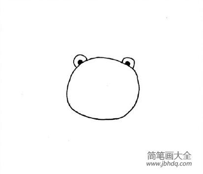 【小老虎怎么画简笔画】委屈的小老虎简笔画画法