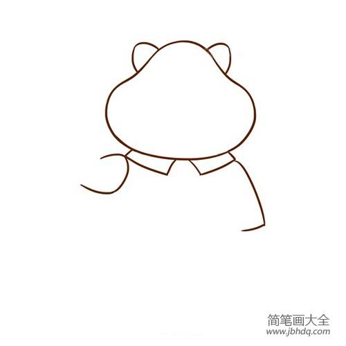 豹子简笔画图片大全_豹子警官简笔画