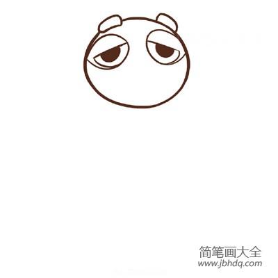 【疯狂动物城简笔画图片大全】疯狂动物城,树懒简笔画画法