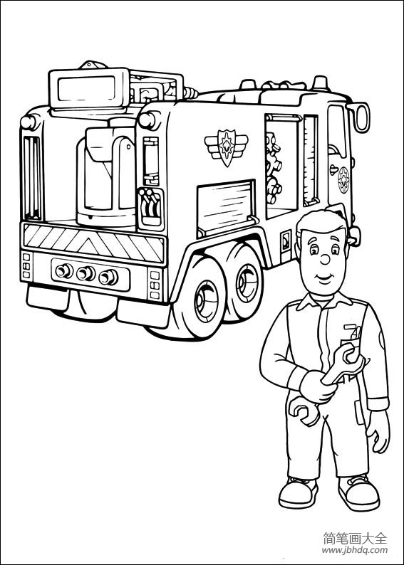 消防车的画法消防车简笔画图片大全|消防车的画法,消防车简笔画图片