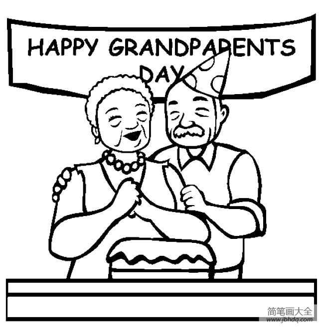 老年人简笔画图片大全|老年人简笔画,老奶奶简笔画