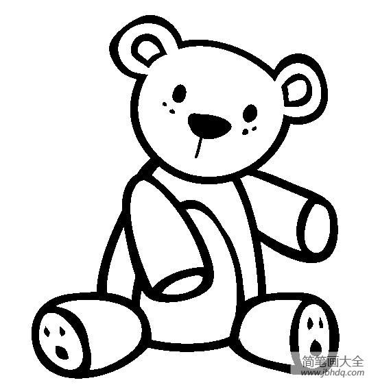 【生活用品简笔画玩具泰迪熊简笔画图片大全】生活用品简笔画,玩具泰迪熊简笔画图片