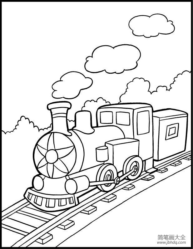 【火车行驶视频】火车图片,行驶中的火车简笔画