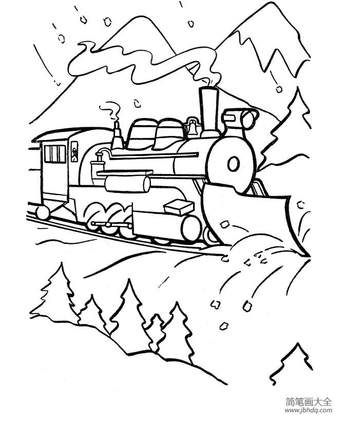 [奔驰的火车精彩视频]火车图片,奔驰的火车简笔画