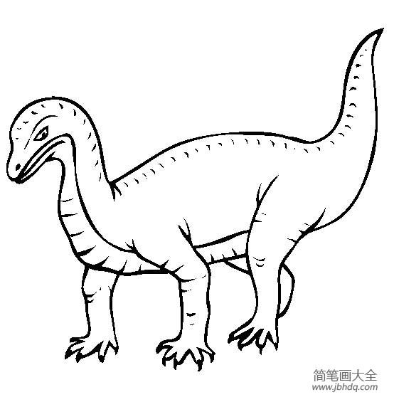 恐龙图片大全 鼠龙简笔画图片
