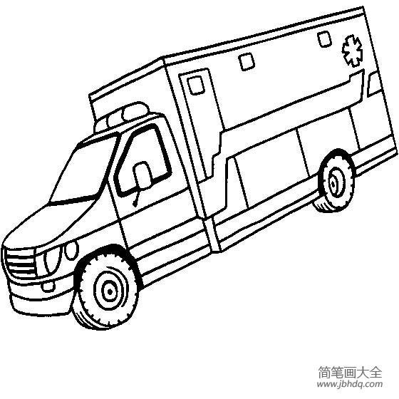 【救护车图片简单的救护车简笔画图片大全】救护车图片,简单的救护车简笔画图片