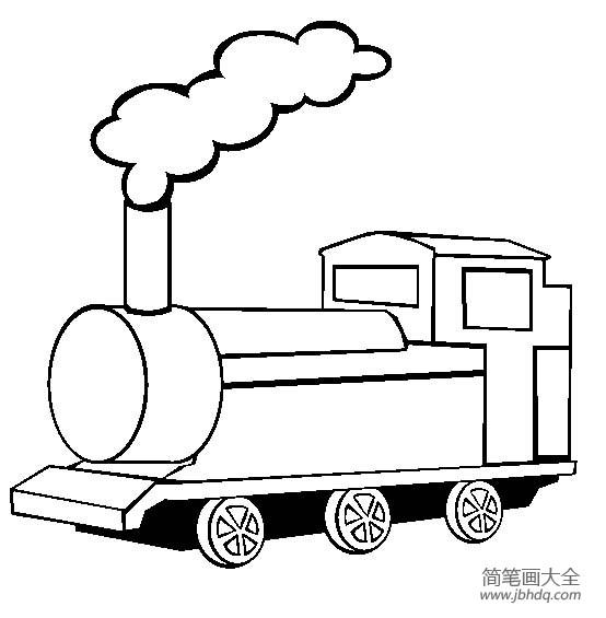 火车图片 简单的火车头简笔画画法
