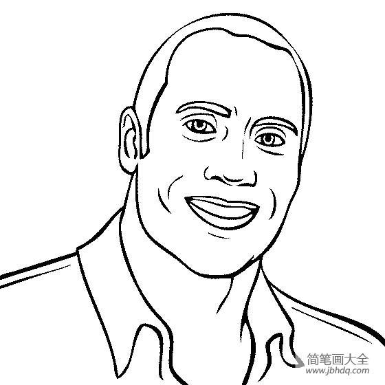 [著名建筑物简笔画图片]人物简笔画,著名演员岩石简笔画图片