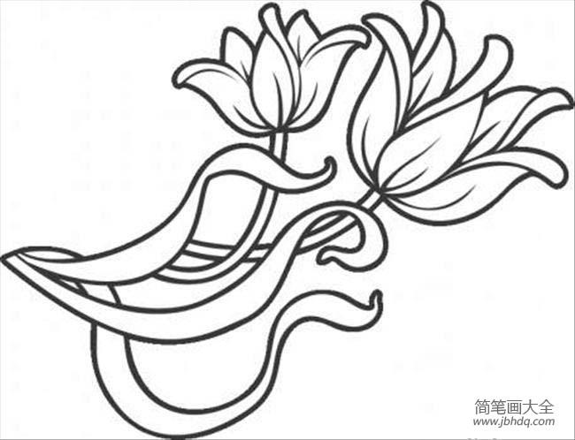 花朵图片 漂亮的小花简笔画