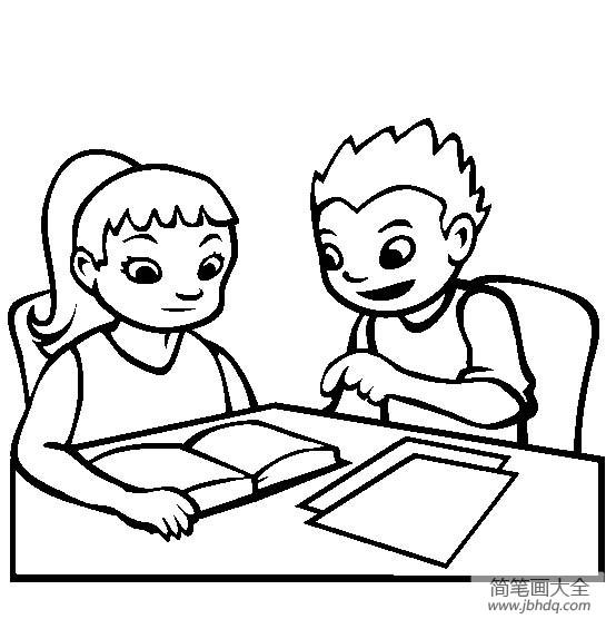 一起学习简笔画图片