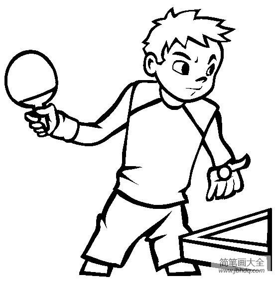 【体育运动图片乒乓球简笔画图片大全】体育运动图片,乒乓球简笔画图片