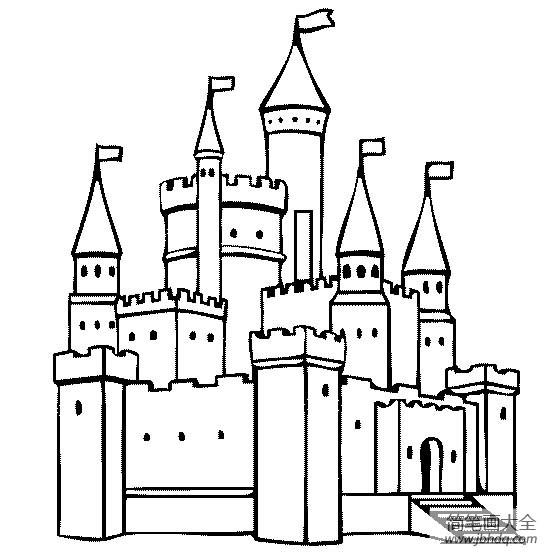 建筑图片城堡简笔画图片大全|建筑图片,城堡简笔画图片