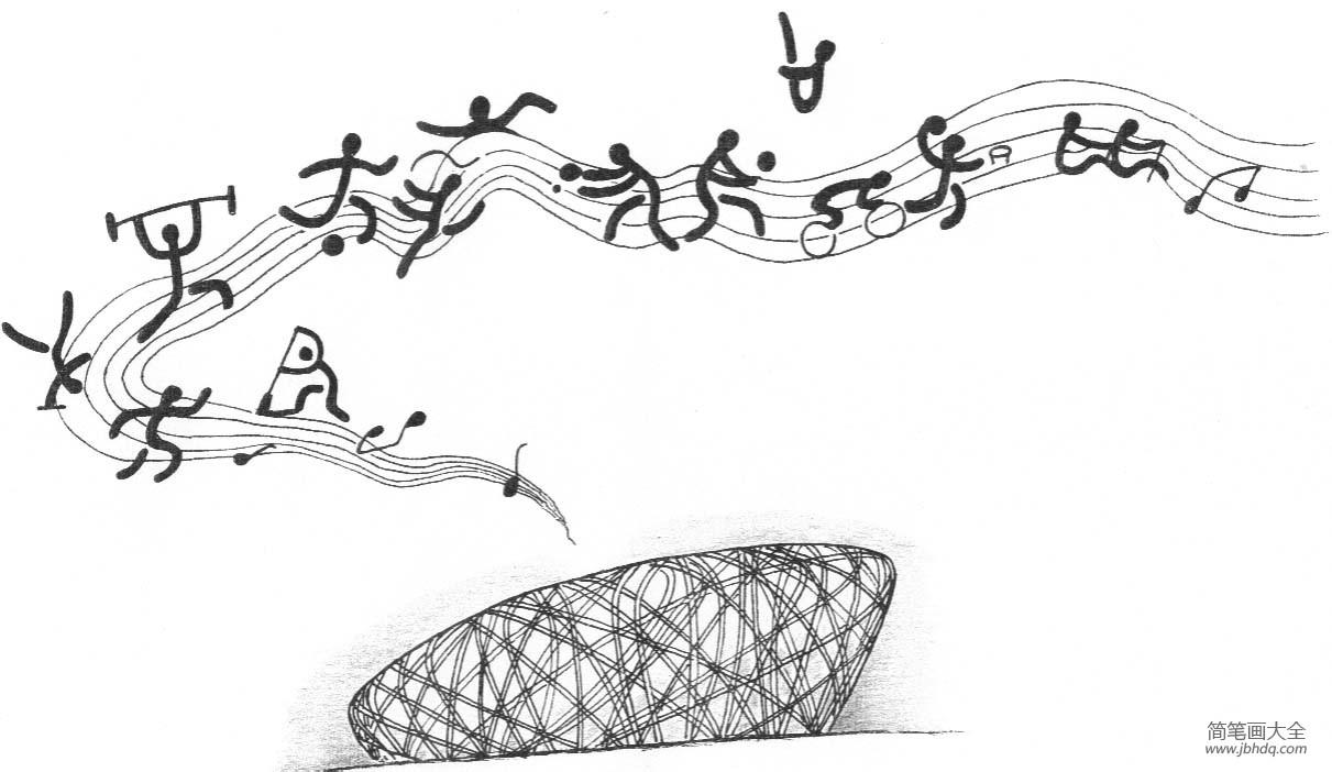 [北京奥运会是第几届奥运会]奥运会图片,北京奥运会鸟巢简笔画图片