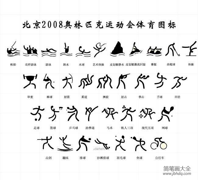 【奥运会图片奥运会体育运动标志简笔画】奥运会图片,奥运会体育运动标志简笔画