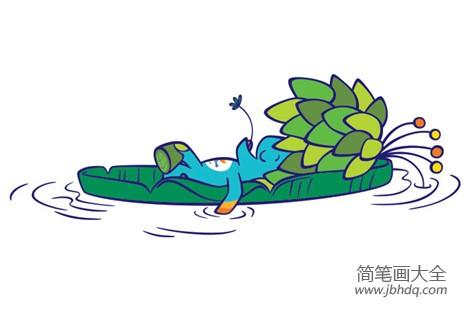 【2016年奥运会吉祥物叫什么】2016年里约奥运会吉祥物简笔画图片