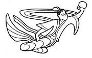 【卡通嫦娥奔月简笔画图】嫦娥奔月卡通简笔画