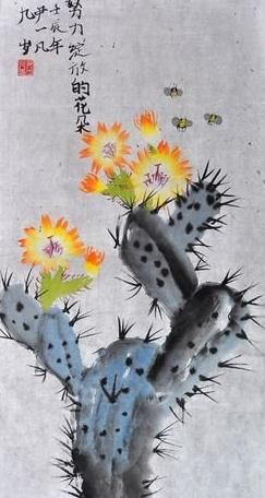 怎么形容花朵绽放_努力绽放的花朵