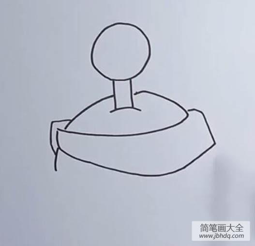 【植物大战僵尸简单画法】植物大战僵尸之地雷的画法