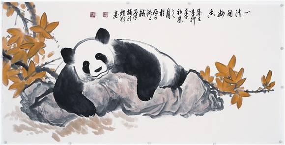 休息的图片|休息的大熊猫