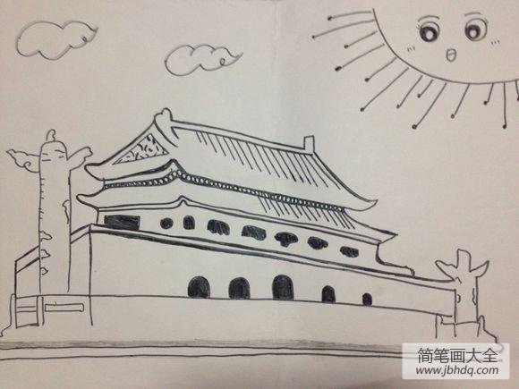 天安门城楼开放时间|天安门城楼简笔画