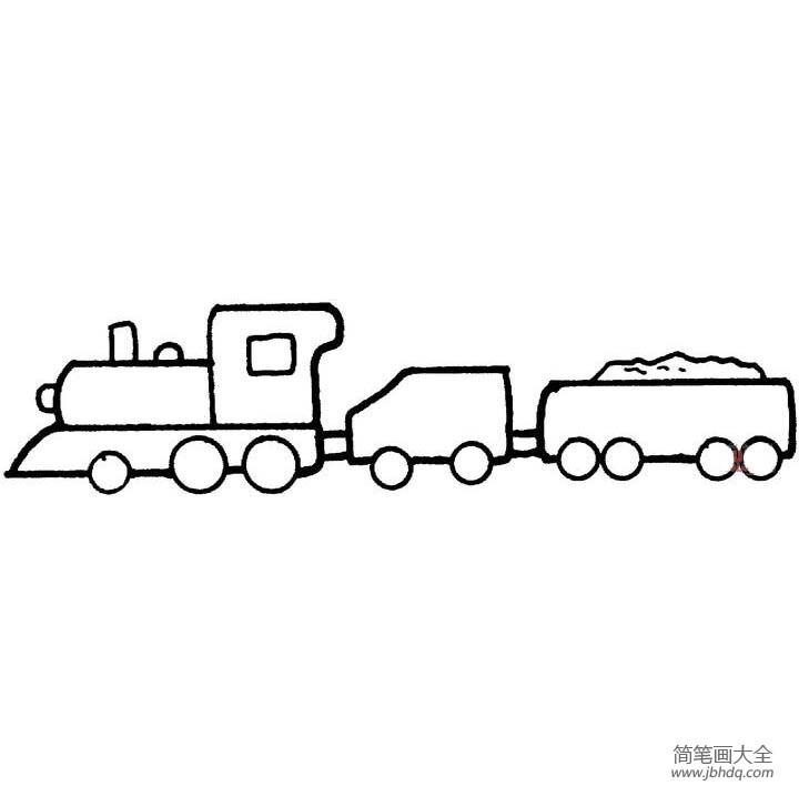 【一步一步教画婚纱简单】教你画简单的火车