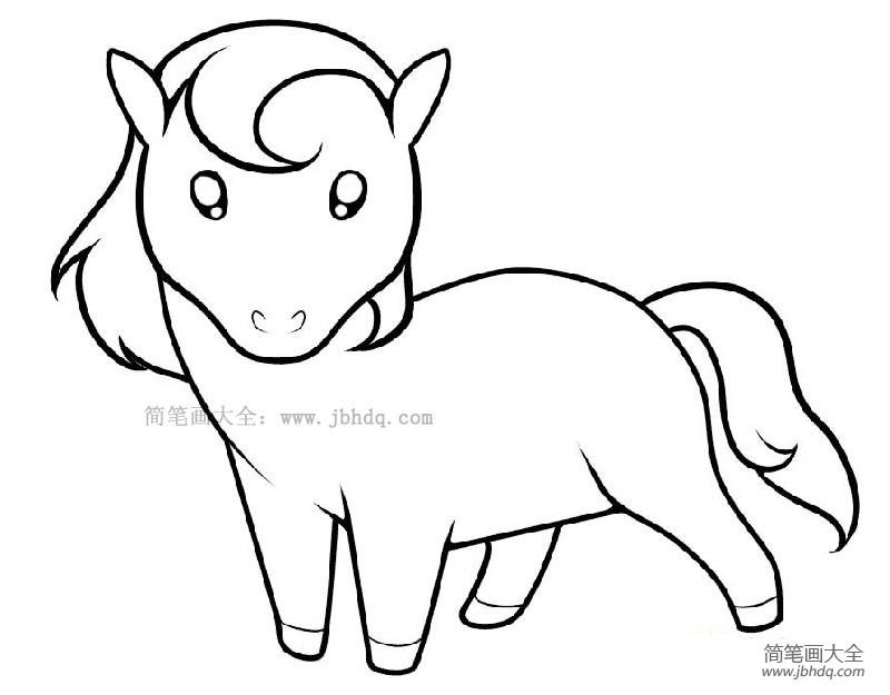 可爱彩虹小马|一只可爱的小马
