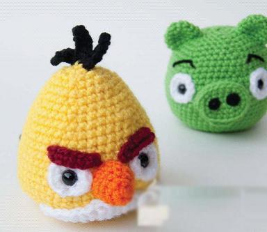 手工制作玩具大全_手工制作玩具,手工编织愤怒的小鸟