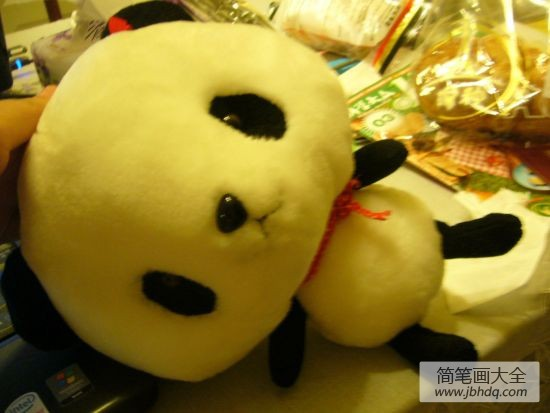 手工diy制作大全|幼儿手工DIY可爱大熊猫玩偶!