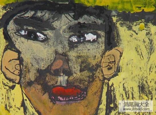 [中秋节绘画优秀作品]国外绘画优秀作品-我的自画像
