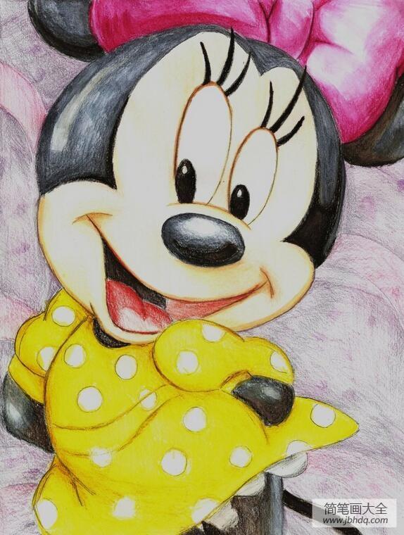 漂亮的米妮米老鼠画画图片欣赏
